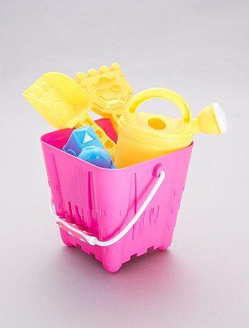 6a51f5d8e26 Niño 3-12 años - Cubo de playa + accesorios - Kiabi