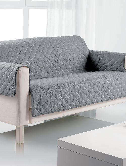 Cubre sofá                     gris