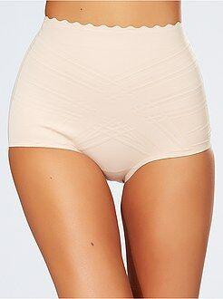 Lencería moldeadora blanco - Culotte alto 'Dim Beauty Lift'