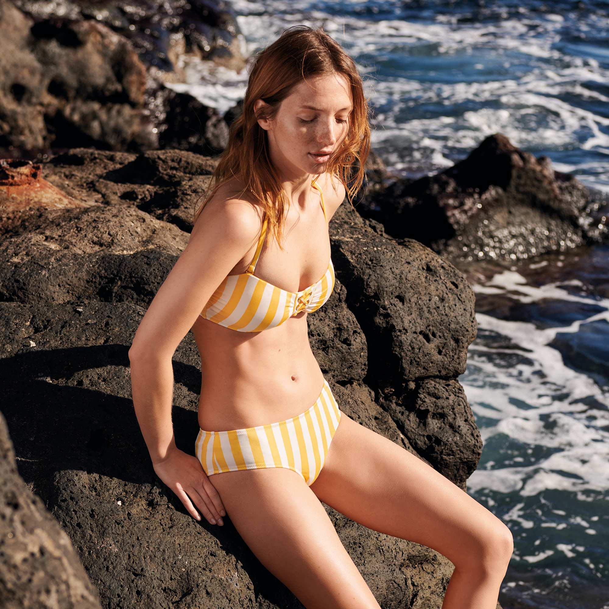 Culotte A Culotte De De Culotte Rayas Rayas A Bikini De Bikini EQCeWrdxBo