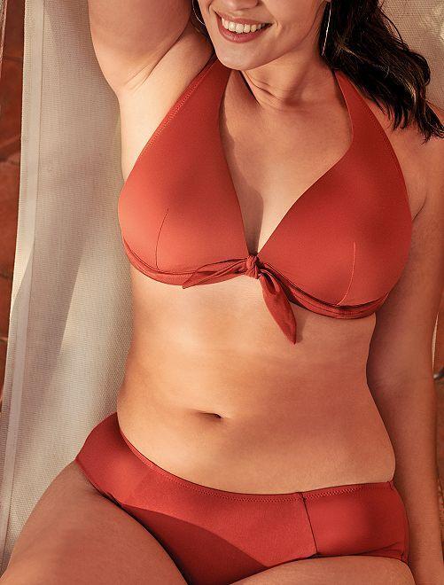 Laterales Los Culotte Bikini De En Con Frunces NOXnwP80k