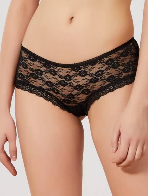 Culotte de encaje 'Mojito Lingerie'                                         negro