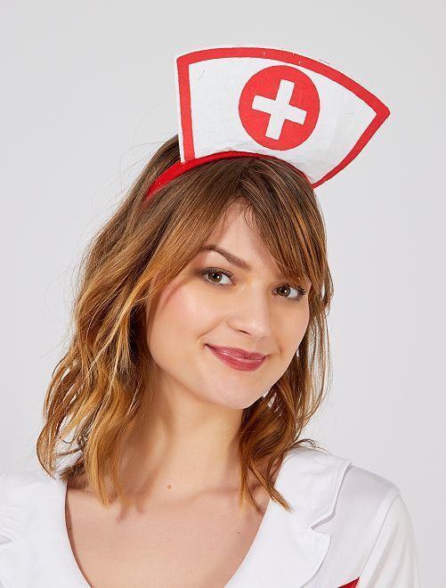Diadema de 'enfermera'                             blanco