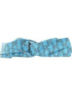 Complementos - Diadema de tejido estampado estilo wax - Kiabi