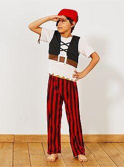 Disfraz 3 en 1 de pirata, indio y cowboy - Kiabi