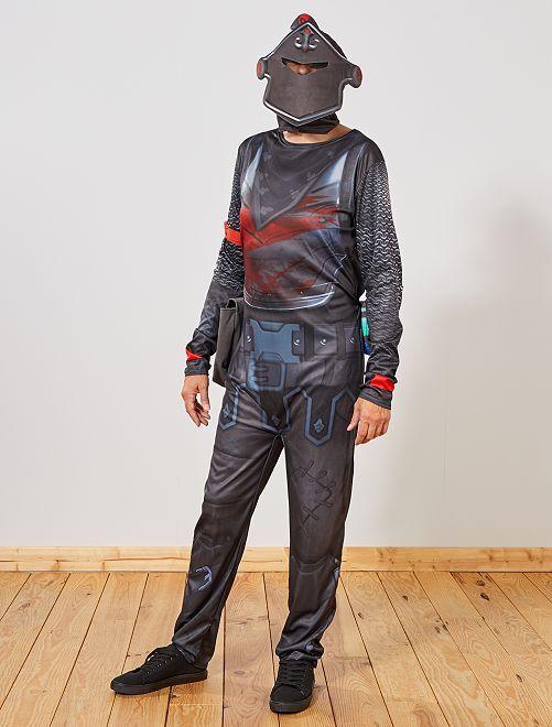Disfraz 'Black Knight Fortnite'                             negro Hombre