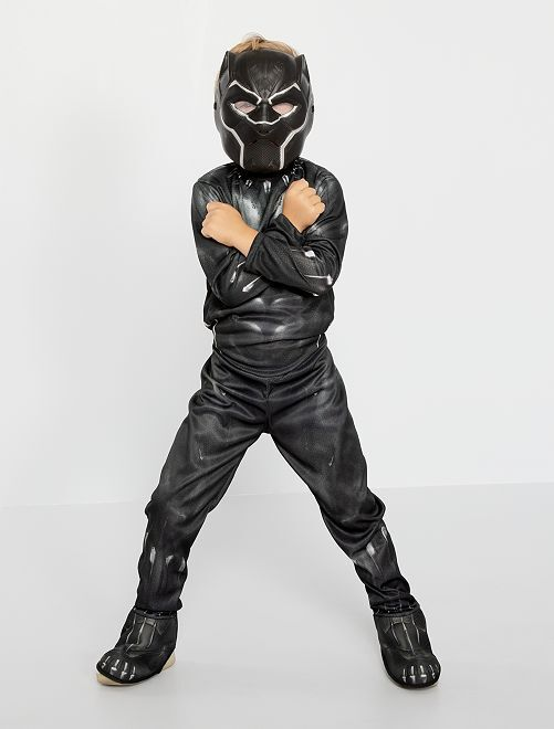 Disfraz 'Black Panther' de 'Marvel'                             negro