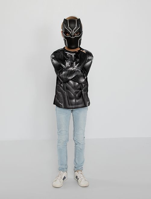 Disfraz 'Black Panther'                             negro