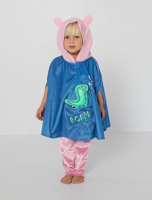 Disfraz capa 'Peppa Pig'                             azul/rosa