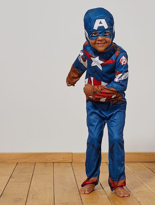 Disfraz 'Capitán América'                             azul/rojo