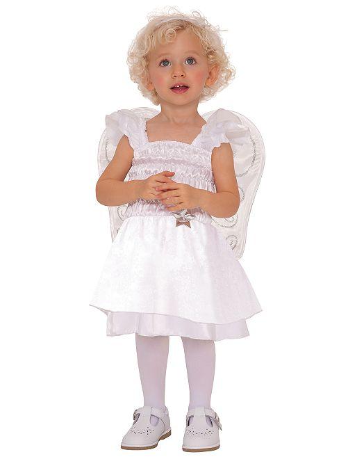 Disfraz de 'ángel'                             blanco