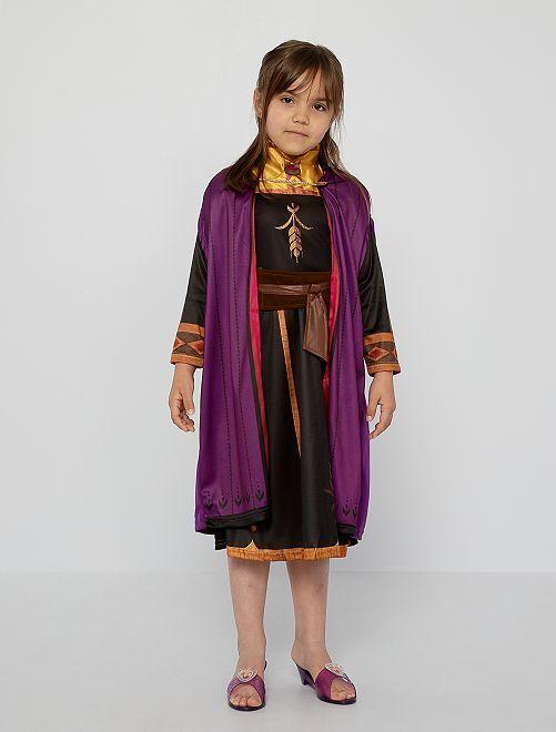 Disfraz de 'Anna' de 'Frozen 2'                             estampado negro