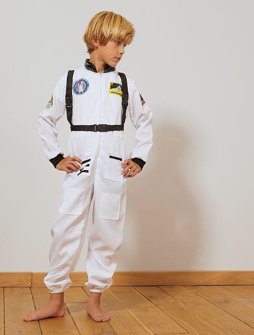 Disfraz de astronauta                             blanco/negro