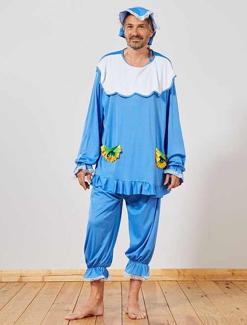 Disfraz de bebé                             azul Hombre