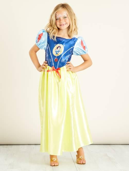 Disfraz de 'Blancanieves'                             amarillo Niños