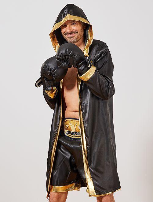 Disfraz de boxeador                             NEGRO