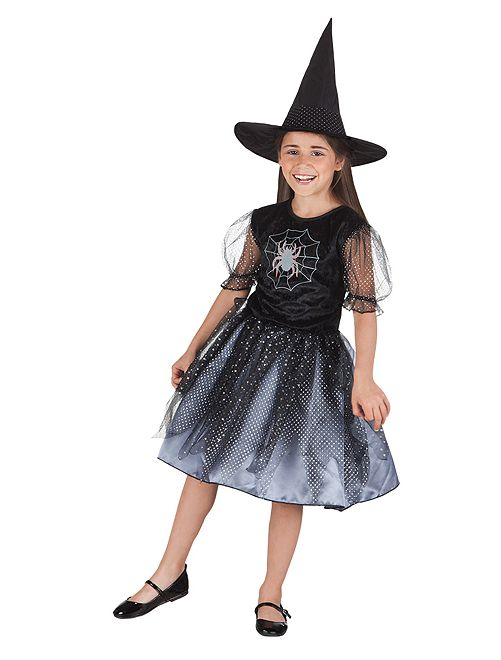 Disfraz de bruja                             negro