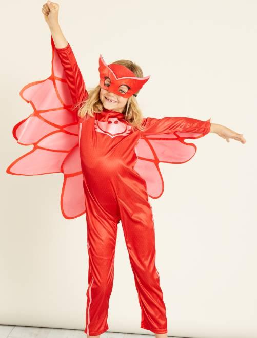 Disfraz de 'Buhíta' de 'PJ Masks'                             rojo