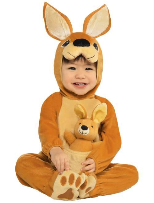 Disfraz de canguro                             marrón Bebé