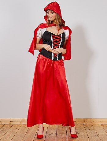 Disfraz de Caperucita Roja para mujer - Kiabi