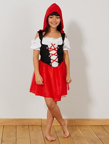 Niños - Disfraz de Caperucita Roja - Kiabi