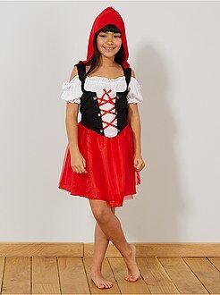 Niños Disfraz de Caperucita Roja