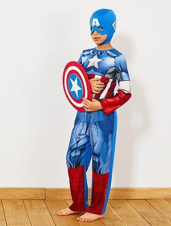 Niños - Disfraz de 'Capitán América' - Kiabi