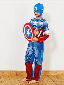 Niños Disfraz de 'Capitán América'