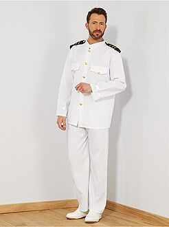 Hombre - Disfraz de capitán - Kiabi