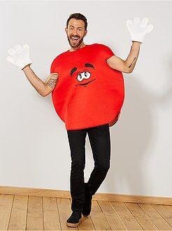 Hombre Disfraz de caramelo redondo