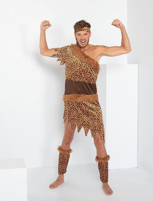 Disfraz de cavernícola                             marrón
