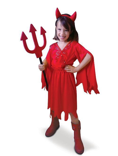 Disfraz de diablesa                             rojo