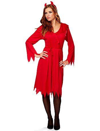 Mujer - Disfraz de diablesa - Kiabi