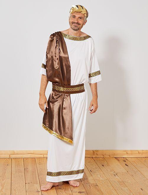 Disfraz de dios griego                             BLANCO