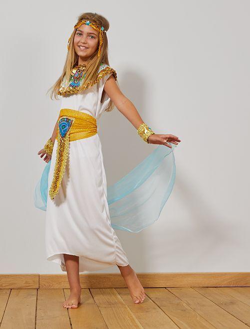 Disfraz de egipcia                             BLANCO