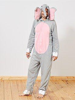 Hombre - Disfraz de elefante - Kiabi