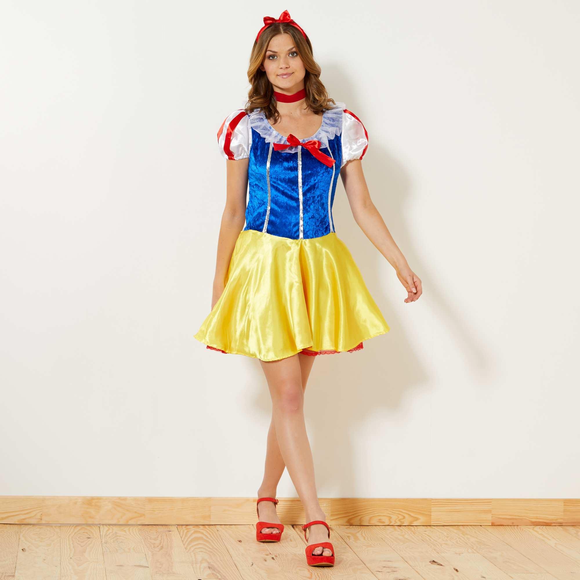 f7be9c184c7 Disfraz de Elsa Mujer - amarillo - Kiabi - 23