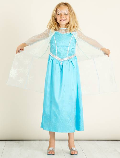 Disfraz de Elsa de 'Frozen'                             azul