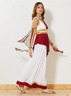 Mujer Disfraz de emperatriz romana