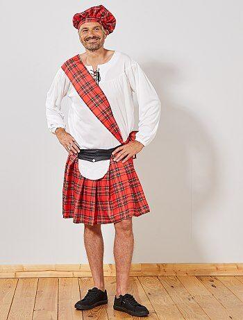Hombre - Disfraz de escocés - Kiabi