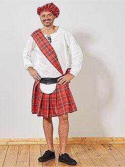 Hombre Disfraz de escocés