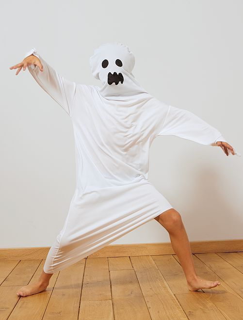 Disfraz de fantasma                             blanco