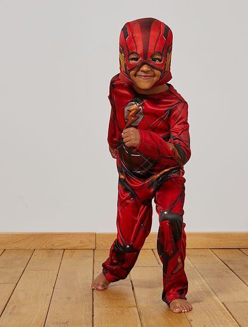 Disfraz de 'Flash'                             rojo