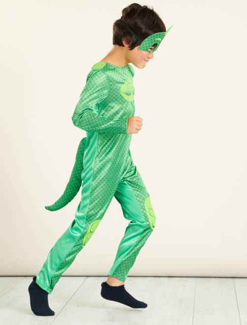 Disfraz de 'Gekko' de 'PJ Masks'                             verde Niños