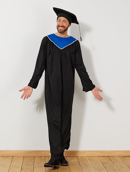 Disfraz de graduado                             negro