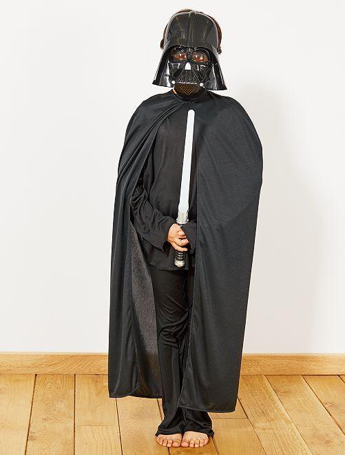 Disfraz de guerrero de las estrellas                             negro Niños