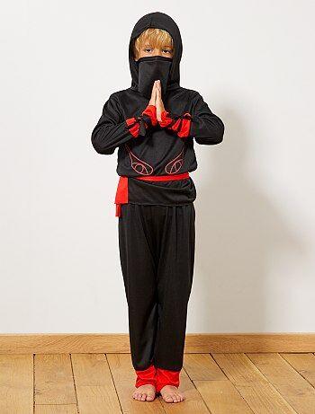 Niños - Disfraz de guerrero ninja - Kiabi