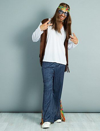 Disfraz de hippie - Kiabi