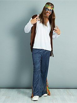 Hombre - Disfraz de hippie - Kiabi
