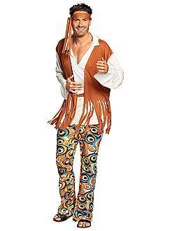 Hombre Disfraz de hippie